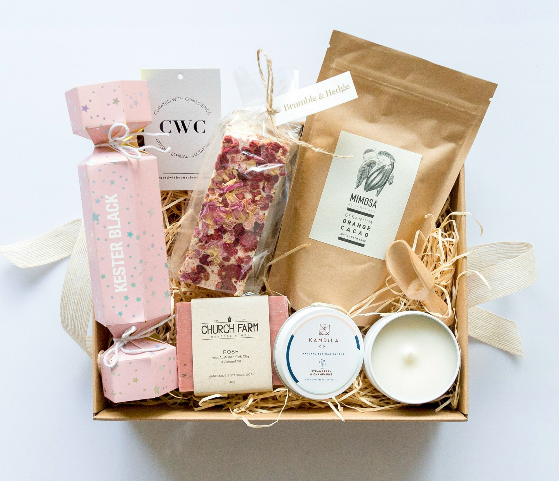 Day Spa at Home Curated With Conscience Ethical Gift Hampers